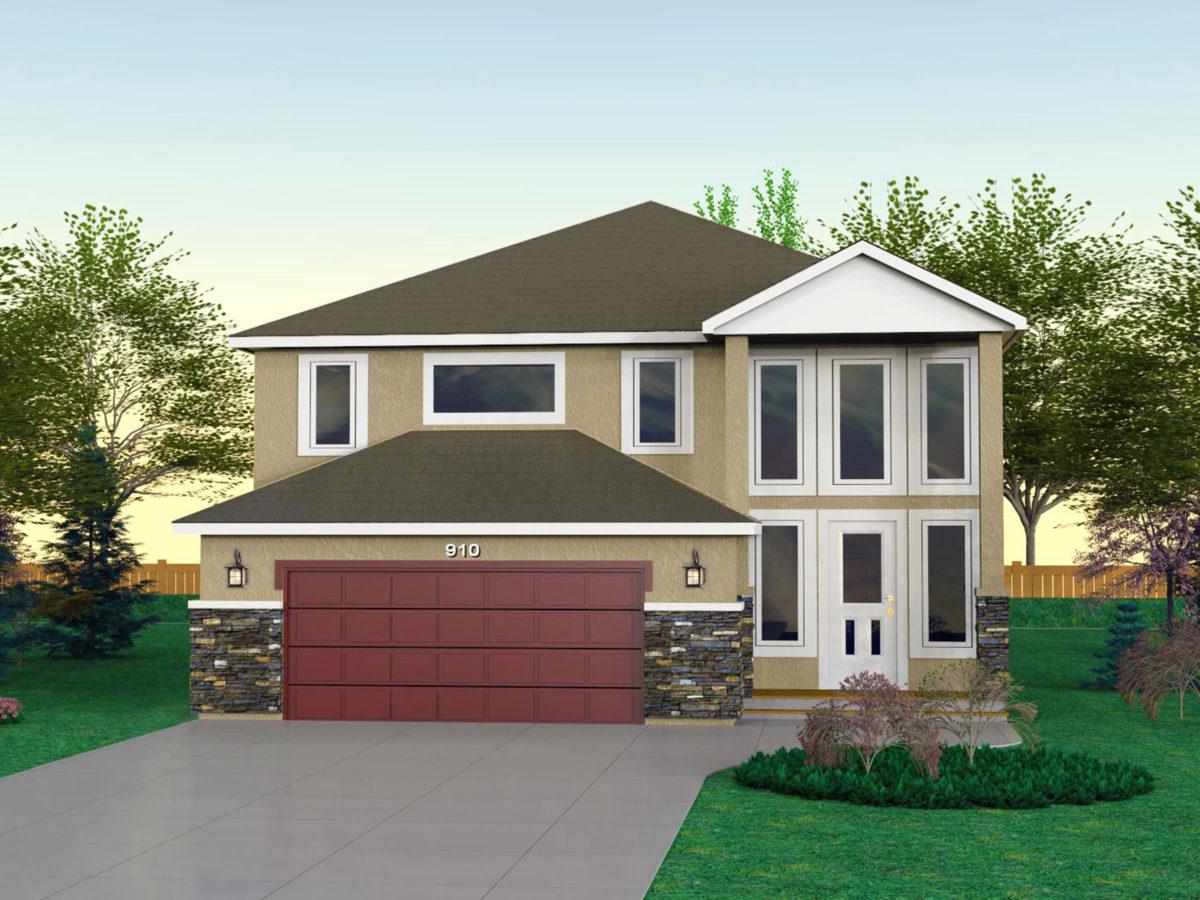 Floor Plan Custom Home Builder Saskatoon